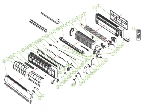 lg air conditioner wall control panel manual