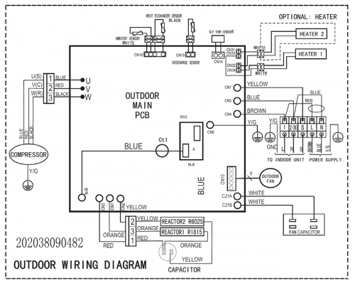 Wiring Diagram For Ductless Mini Split on wiring diagram ac split daikin