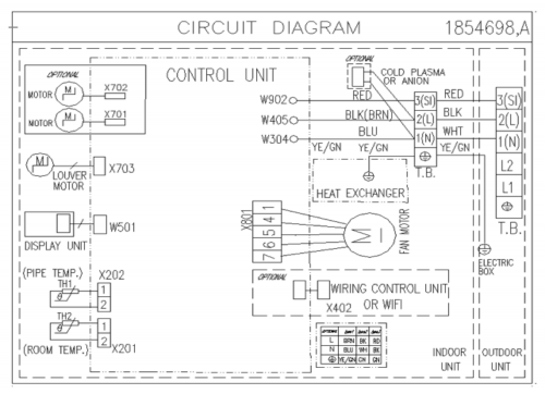 absem4h4s18 technical support wikiControl Board Wiring Diagram On Indoor Fan Motor Wiring Diagram #20